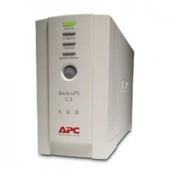 APC - SCHNEIDER APC BACK-UPS CS 500VA 230V USB/SERIAL