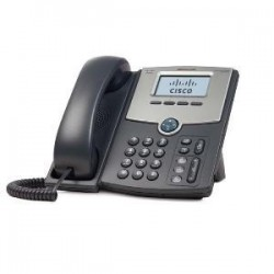 CISCO 1 Line IP Phone With Display PoE PC Po