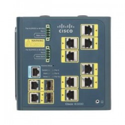 Cisco IE 3000 Switch 8 10/100 + 2 T/SFP