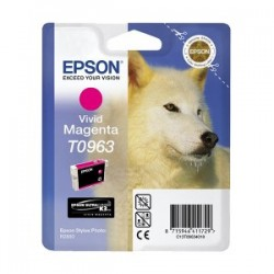 EPSON T0963 INK CARTRIDGE VIVID MAGENTA