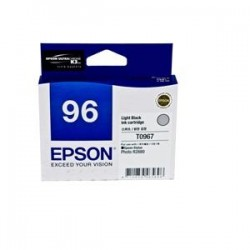 EPSON T0967 INK CARTRIDGE LIGHT BLACK