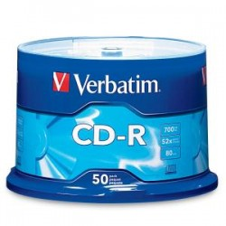 VERBATIM CD-R 50pk Spindle
