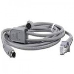 DATALOGIC CABLE PS/2 MINI DIN WEDGE