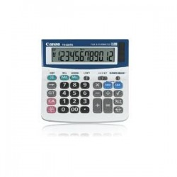 CANON TX220TS 12 DIGIT DT LARGE LCD CALCULATOR