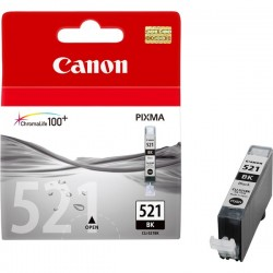 CANON CLI521BK BLACK INK CARTRIDGE FOR IP4600