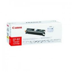 CANON EP87Y YELLOW LASER TONER CARTRIDGE