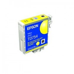 EPSON T0754 C59 INK CARTRIDGE YELLOW