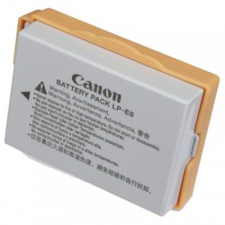 CANON LPE8 LITHIUM-ION BATTERY FOR EOS550D