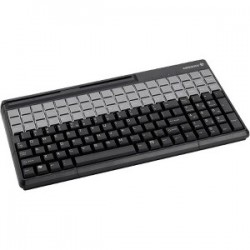 CHERRY KEYBD W/MSR 135 KEYS/54 RLGND BLACK USB