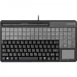 CHERRY SPOS KEYBD 135 KEYS/54 RELEGND BLACK USB