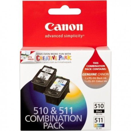 CANON PG510CL511CP-PG510 BLACK+CL511 COLOUR
