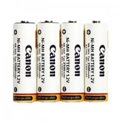 CANON NB4 300 4 X AA 2500MAH NIMH BATTERIES