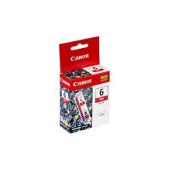 CANON BCI6R INDIVIDUAL RED INK TANK
