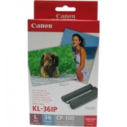 CANON KL36IP INK/PAPER PACK L SIZE 119X89MM