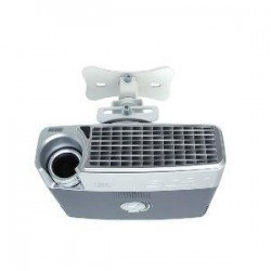 ATDEC PROJECTOR CEILNG MOUNT FLUSH/WHITE