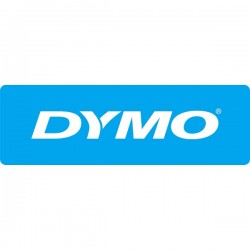 DYMO 12MM D1 TAPE/BLACK ON WHITE/12MM X 7M
