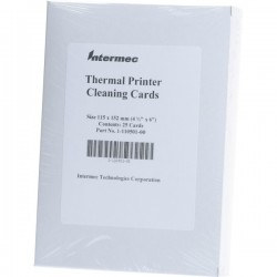 INTERMEC CLEANING CARD 4IN LOT 25