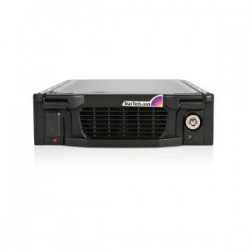 STARTECH Black 5.25in SATA HDD Drawer Mobile Rack