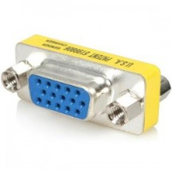 STARTECH Slimline VGA HD15 Gender Changer - F/F