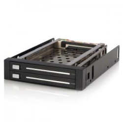 STARTECH 2 Drive 2.5in Trayless SATA Mobile Rack