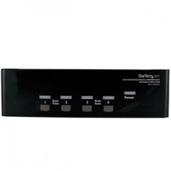 STARTECH 4 Port DVI VGA Dual Monitor KVM Switch