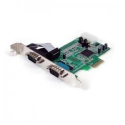 STARTECH 2 Port PCIe Serial Adapter Card w/ 16550