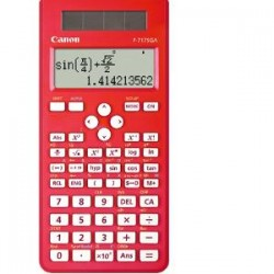 CANON F717SGAR 242 ftn sci calculator Red.