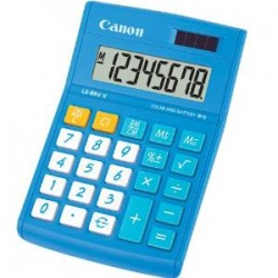 CANON LS88VIIB 8 Digit Calculator Blue