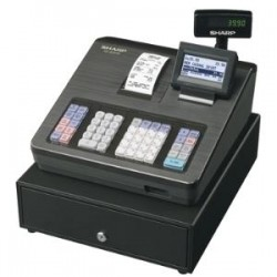 SHARP XEA207B CASH REGISTER/RAISED KEYBD/BLACK