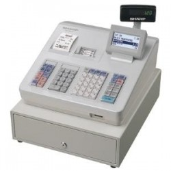 SHARP XEA307 CASH REGISTER/RAISED KEYBD/ WHITE