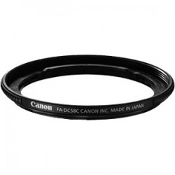 CANON FADC58C Filter Adapter for G1X