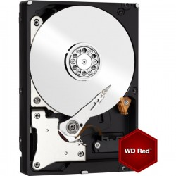 WESTERN DIGITAL HARD DRIVE 2TB RED 64MB 3.5 SATA 6GB/s