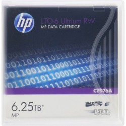HPE HP LTO6 Ultrium 2.5TB/6.25TB RW Data Car