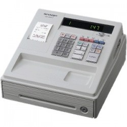 SHARP XEA147 WHITE CASH REGISTER