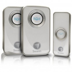 SWANN Wireless Door Chime with 2 Receiver