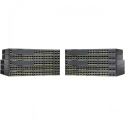 CISCO Catalyst 2960-X 24 GigE PoE 370W 1GB.
