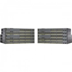 CISCO Catalyst 2960-X 48 GigE PoE 740W 1GB.
