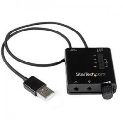 STARTECH USB Sound Card Audio Adapter w/ SPDIF