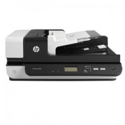 HP SCANJET ENT FLOW 7500 S2 FLATBED SCANNER