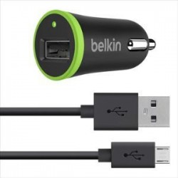 BELKIN 2.1a Car charger with Micro USB Cable