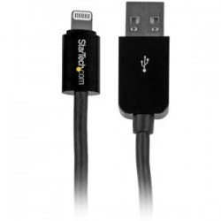 STARTECH 10 ft Black 8-pin Lightning to USB Cable
