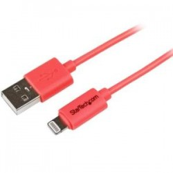 STARTECH 1m Pink 8-pin Lightning to USB Cable