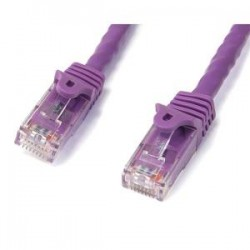 STARTECH 2m Purple Snagless UTP Cat6 Patch Cable