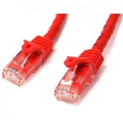 STARTECH 2m Red Snagless UTP Cat6 Patch Cable