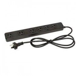 KENSINGTON 6 OUTLET GENERAL DUTY POWERBOARD