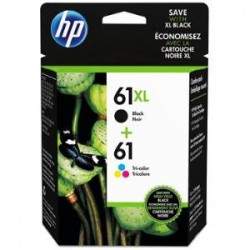 HP 61XL CLR/BLK INK CARTRIDGE PVP PACK