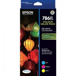 EPSON High Capacity DURABrite Ultra 3 ink Valu