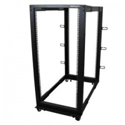 STARTECH 25U Adjustable Depth 4 Post Server Rack