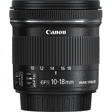 CANON EFS10-18ISST EF-S10-18MM F/4.5-5.6 IS ST