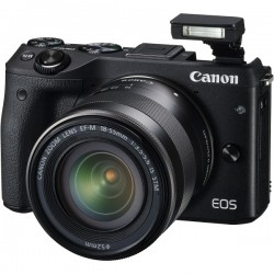 CANON M3TKISB EOS M3 BLACK WITH EFM18-55ISSTM